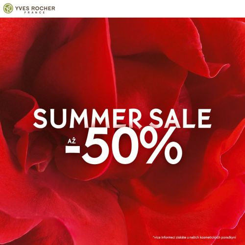 Summer sale až -50%